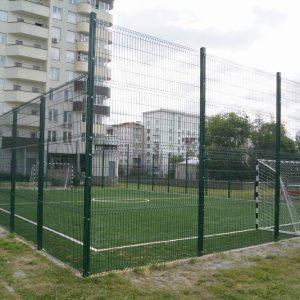 футбольное поле из сварной сетки фото