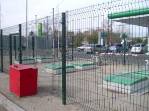 паркан для АЗС