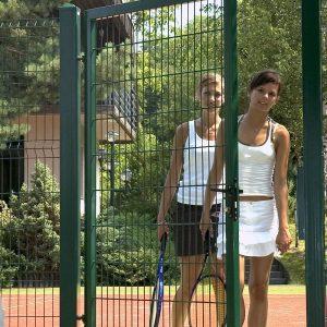 Ограждение для теннисного корта