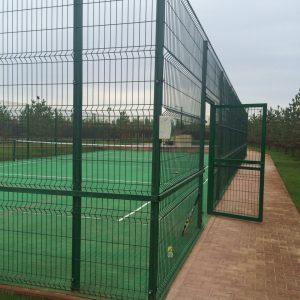 спорт площадка из сетки