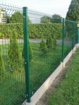 забор из сварной сетки в полимере фото