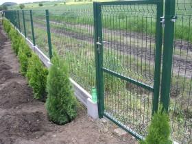 забор металлический секционный из сварной сетки цена