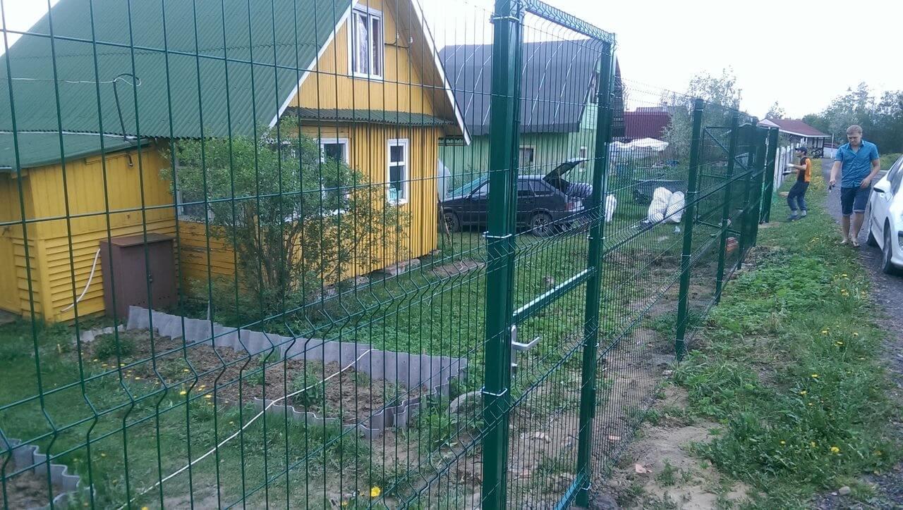 Забор из сетки Запорожье