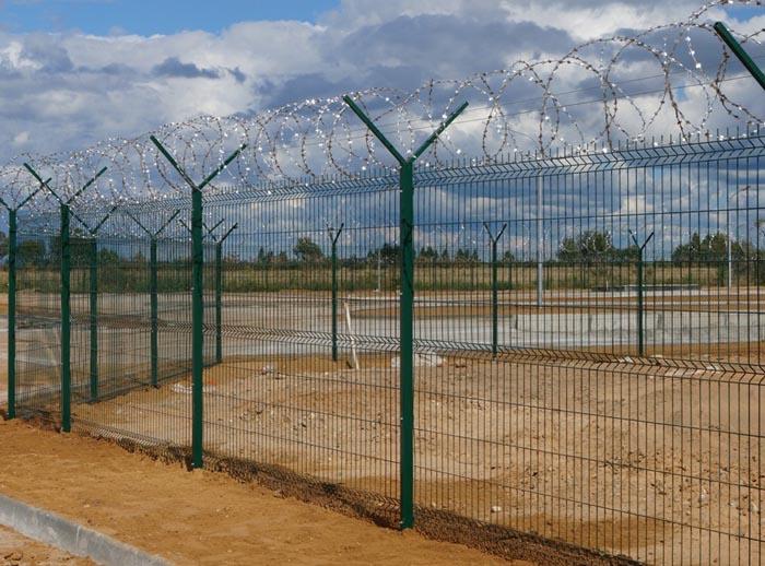 сеточный забор