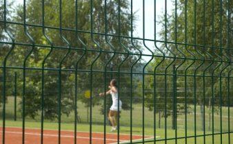 Ограждение спортивной площадки Никополь