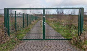 Ворота из сварной сетки Житомир фото