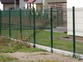 Сварная сетка для забора в ПВХ Житомир фото