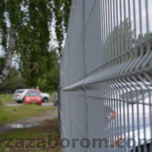 Забор для парковки.