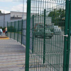 Забор из сетки в ПВХ Днепр