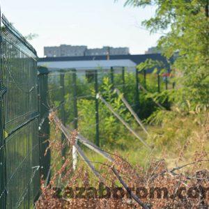 забор из сварной сетки для производтсвенной зоны