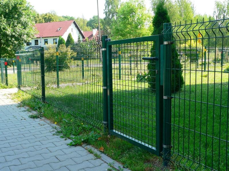 огражденияе для газонов и дорожек из сетки