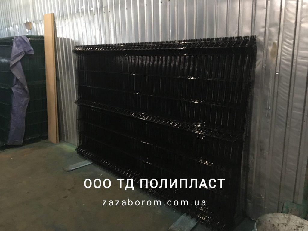сварная сетка 3d черный цвет