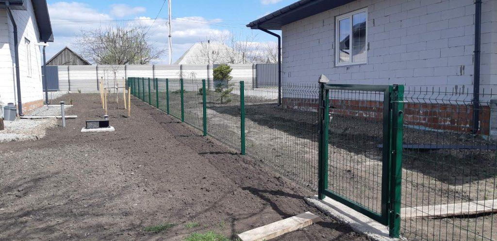 забор из сетки Харьков