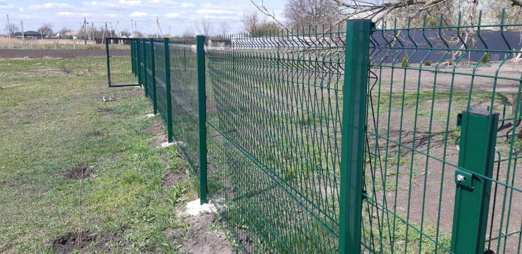 секционный забор из сетки Харьков